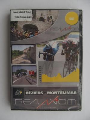 ELITE DVD Tour De France BEZIERS-MONTELIMAR for Real Axion NEW Not Open