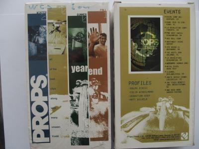Props YEAR END (2001) BMX Video DVD VERY RARE NEW NOT OPEN