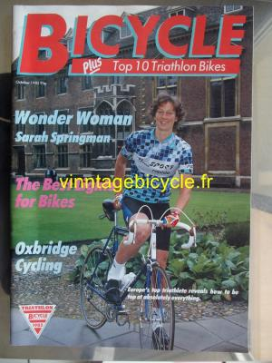 BICYCLE TRIATHLON 1985 - 10 - N°04 octobre 1985