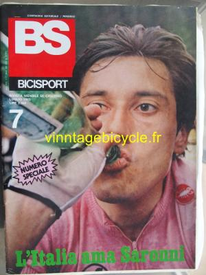 BS BICISPORT - 1983 - 07 - N°7 juillet 1983