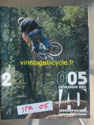 AD AMERICAN DIVISION CATALOGUE BMX 2005