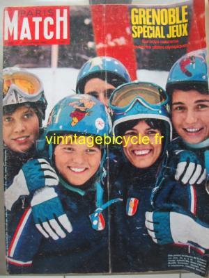PARIS MATCH N°983 DU 10 FEVRIER 1968 : SPECIAL JEUX OLYMPIQUES DE GRENOBLE