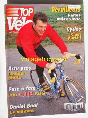 TOP VELO 1999 - 04 - N°25 avril 1999