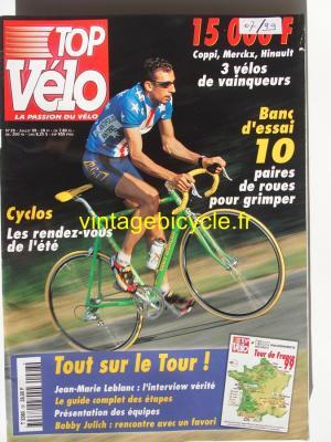 TOP VELO 1999 - 07 - N°28 juillet 1999