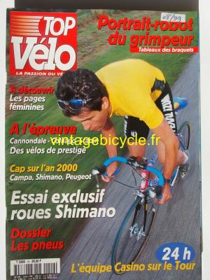 TOP VELO 1999 - 08 - N°29 aout 1999