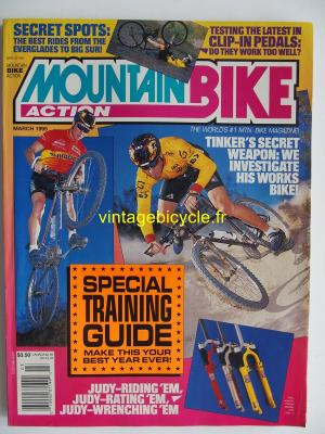 MOUNTAIN BIKE ACTION 1995 - 03 - N° 3 mars 1995