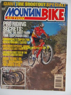 MOUNTAIN BIKE ACTION 1995 - 04 - N° 4 avril 1995