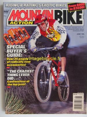 MOUNTAIN BIKE ACTION 1995 - 06 - N° 6 juin 1995