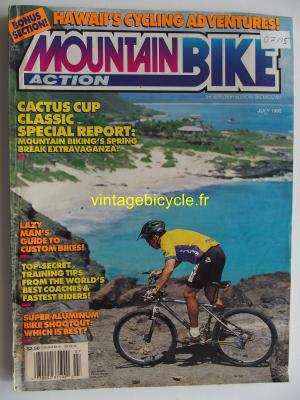 MOUNTAIN BIKE ACTION 1995 - 07 - N° 7 juillet 1995
