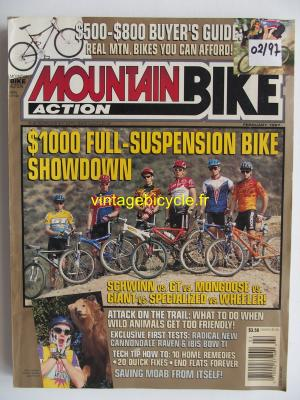 MOUNTAIN BIKE ACTION 1997 - 02 - N° 2 fevrier 1997