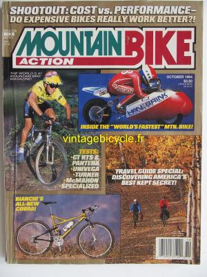MOUNTAIN BIKE ACTION 1994 - 10 - N° 10 octobre 1994