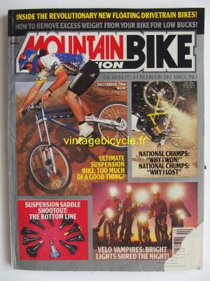MOUNTAIN BIKE ACTION 1994 - 12 - N° 12 decembre 1994