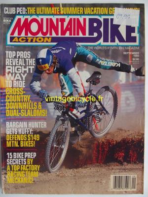 MOUNTAIN BIKE ACTION 1993 - 09 - N° 9 septembre 1993
