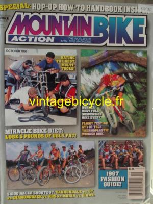 MOUNTAIN BIKE ACTION 1996 - 10 - N° 10 octobre 1996