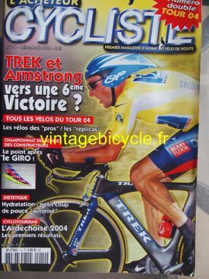 L'ACHETEUR CYCLISTE 2004 - 07 - N°14 juillet / aout 2004