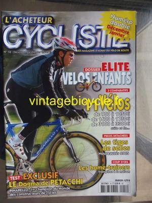 L'ACHETEUR CYCLISTE 2004 - 12 - N°18 decembre 2004