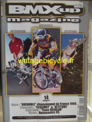 BMX'UP 1998 - 09 - N°14 septembre 1998