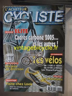 L'ACHETEUR CYCLISTE 2005 - 02 - N°19 fevrier 2005