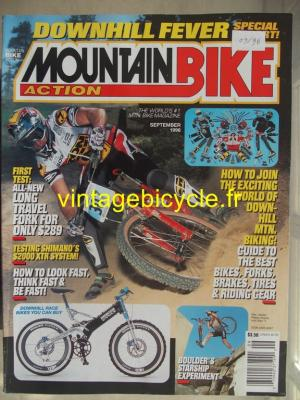 MOUNTAIN BIKE ACTION 1996 - 09 - N° 09 septembre 1996