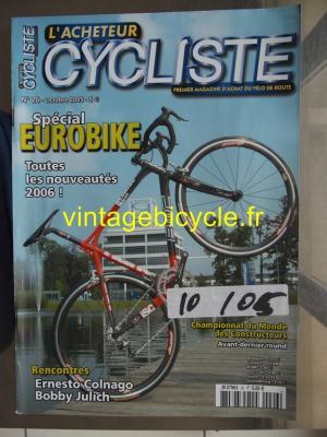 L'ACHETEUR CYCLISTE 2005 - 10 - N°26 octobre 2005