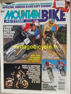 MOUNTAIN BIKE ACTION 1996 - 12 - N°12 decembre 1996