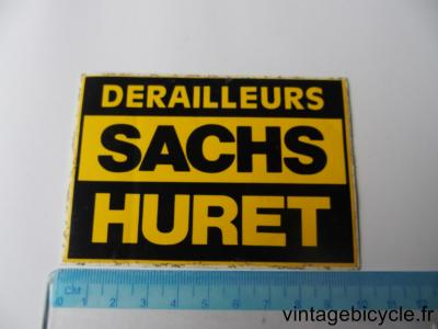 SACHS HURET DERAILLEURS STICKER NOS