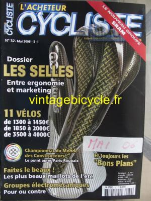 L'ACHETEUR CYCLISTE 2006 - 05 - N°32 mai 2006