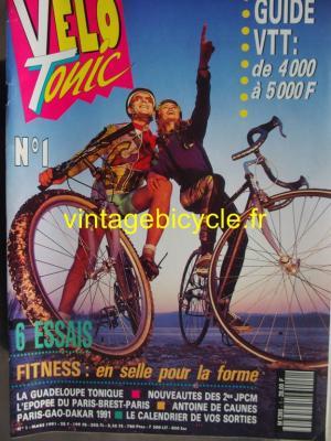 VELO TONIC 1991 - 03 - N°1 mars 1991