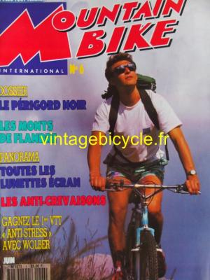 MOUNTAIN BIKE INTERNATIONAL 1991 - 06 - N°6 juin 1991
