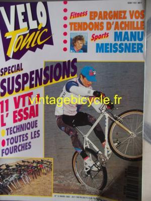 VELO TONIC 1992 - 03 - N°12 mars 1992