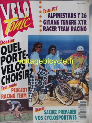 VELO TONIC 1992 - 04 - N°13 avril 1992