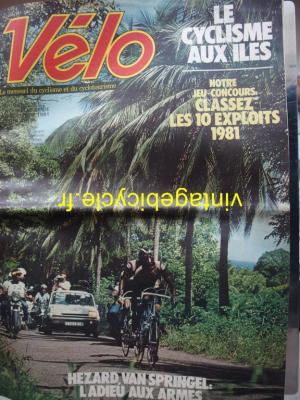 VELO 1981 - 12 - N°161 decembre 1981 (journal)