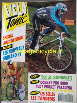 VELO TONIC 1992 - 08 - N°17 aout 1992
