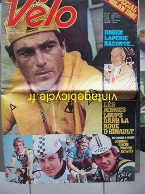 VELO 1981 - 12 - N°162 decembre 1981 / janvier 1982 (journal)