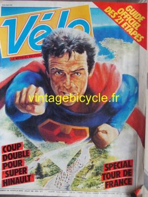 VELO 1982 - 07 - N°168 juillet 1982