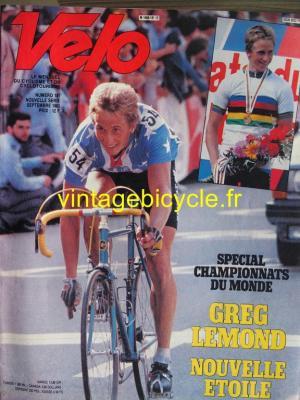 VELO 1983 - 09 - N°181 septembre 1983