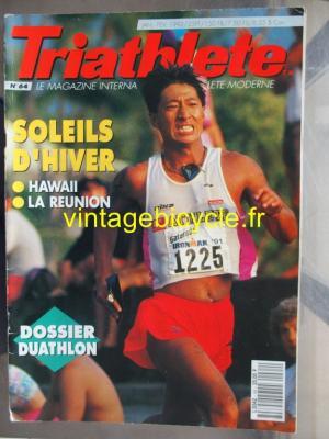 TRI-ATHLETE - 1992 - 01 - N°64 janvier / fevrier 1992