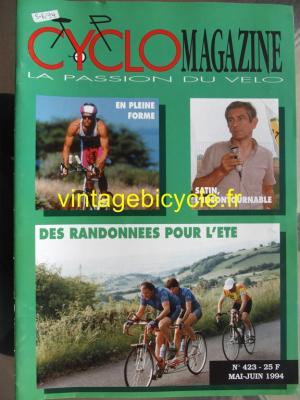 CYCLO MAGAZINE 1994 - 05 - N°423 mai / juin 1994