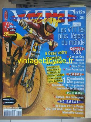 VELO TOUT TERRAIN 1998 - 05 - N°12 mai 1998