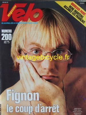 VELO 1985 - 06 - N°200 juin 1985