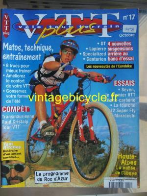 VELO TOUT TERRAIN 1998 - 10 - N°17 octobre 1998