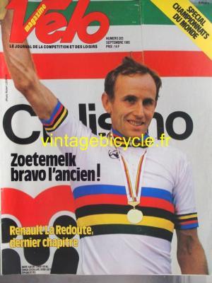VELO 1985 - 09 - N°203 septembre 1985