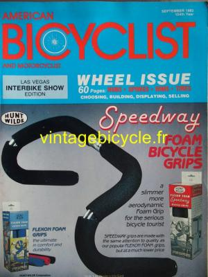 AMERICAN BICYCLIST - 1983 - 09 - N°9 septembre 1983