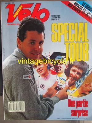 VELO 1988 - 07 - N°233 juillet 1988