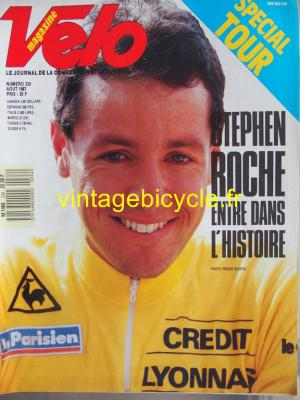 VELO 1987 - 08 - N°224 aout 1987