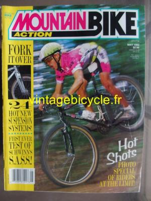 MOUNTAIN BIKE ACTION 1992 - 05 - N° 5 mai 1992
