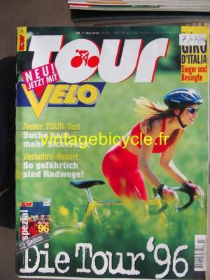 TOUR 1996 - 07 - N°7 juillet 1996