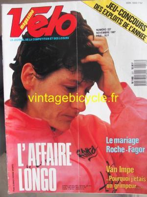 VELO 1987 - 11 - N°227 novembre 1987