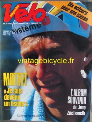 VELO 1987 - 12 - N°228 decembre 1987 / janvier 1988