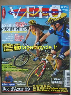 VELO TOUT TERRAIN 1999 - 10 - N°28 octobre 1999
